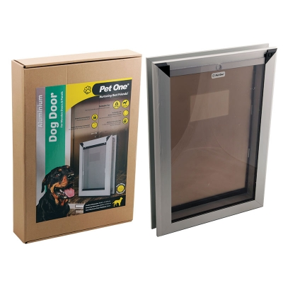 Aluminium Dog Door For Wooden Doors & Panels
