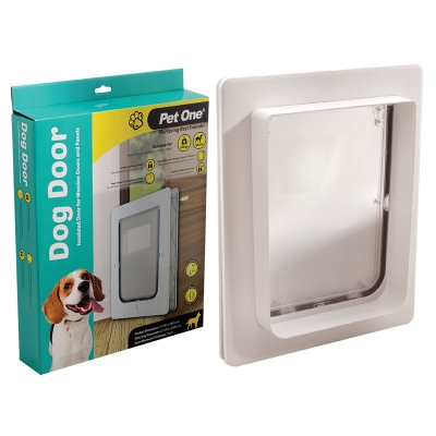 Polycarbonate Insulated Dog Door For Wooden Doors & Panels