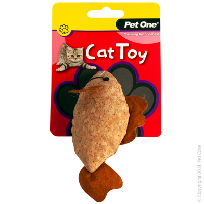 12CM Plush Cork Cat Toy