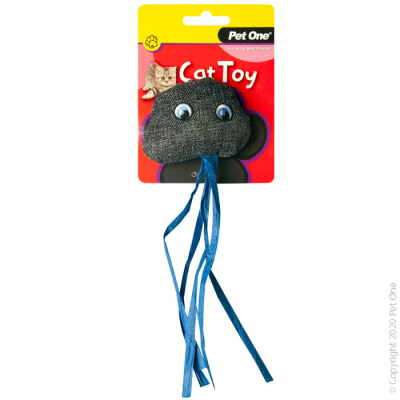 15.5CM Grey Jellyfish Cat Toy