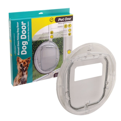 Manual Glass Fitting Dog Door